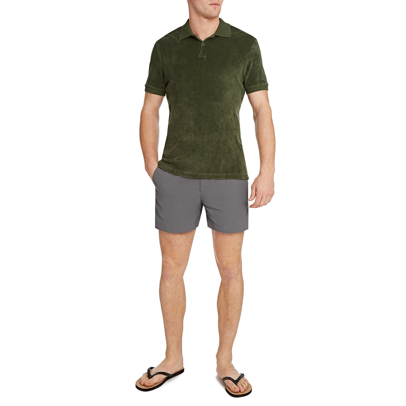 Fossil & Black Setter Swim Shorts - Thunderball Edition - By Orlebar Brown - 007STORE