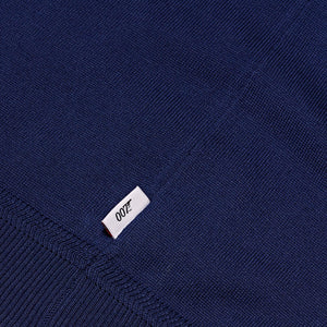 Deep Blue V Neck Silk T-Shirt - For Your Eyes Only Edition - By Orlebar Brown - 007STORE