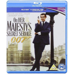 ON HER MAJESTY'S SECRET SERVICE BLU-RAY