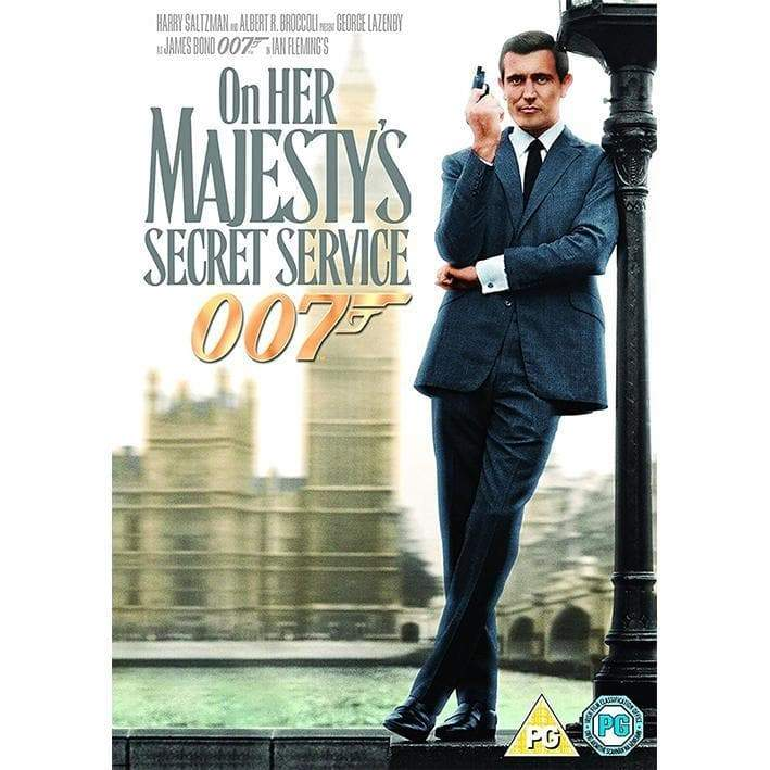 On Her Majesty's Secret Service DVD - 007STORE