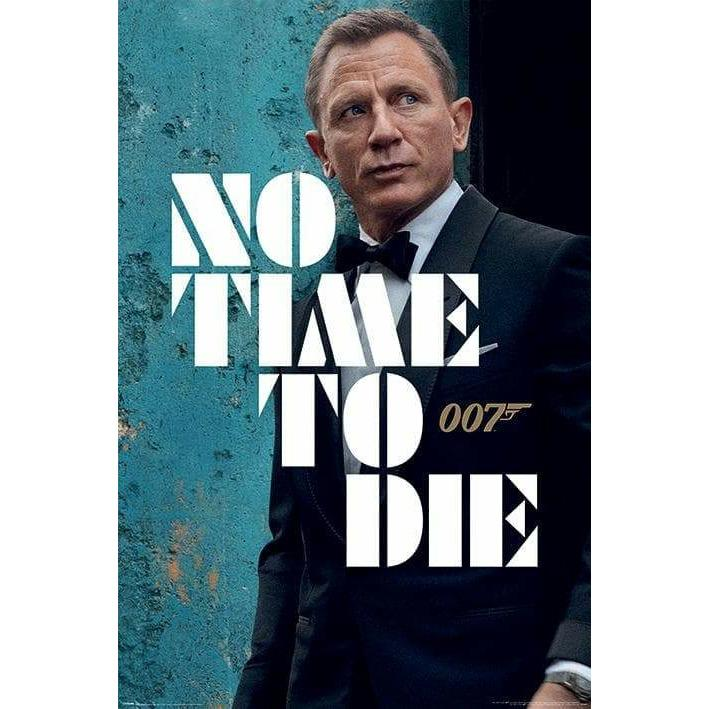 No Time To Die Poster - James Bond Tuxedo Edition - 007STORE