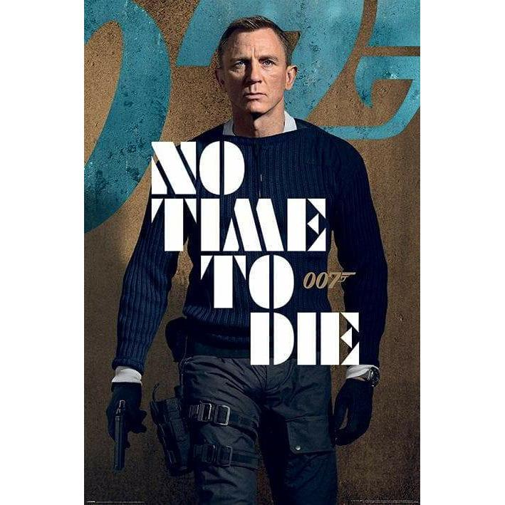 No Time To Die Poster - James Bond Combat Edition - 007STORE