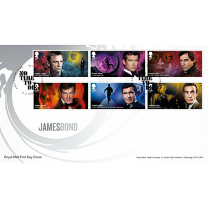 Royal Mail James Bond Stamp Souvenir - 007STORE