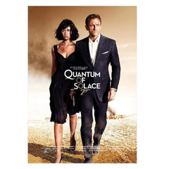 QUANTUM OF SOLACE POSTCARD