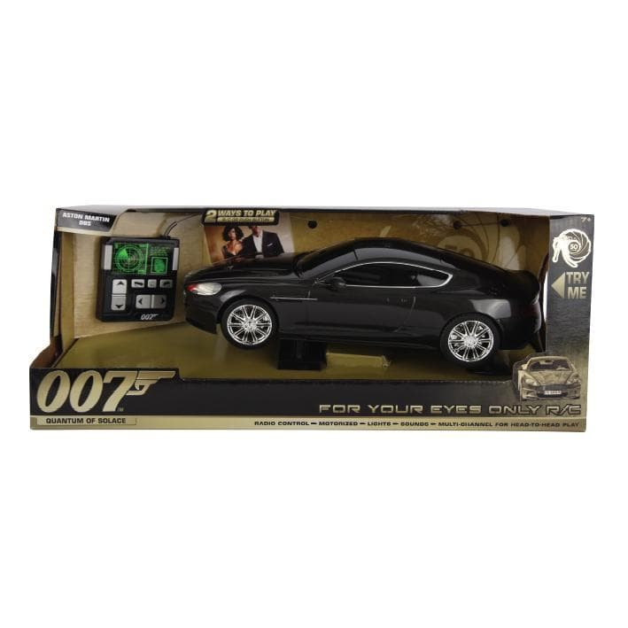 007 Aston Martin DBS Remote Control Car - Quantum Of Solace Edition - 007STORE
