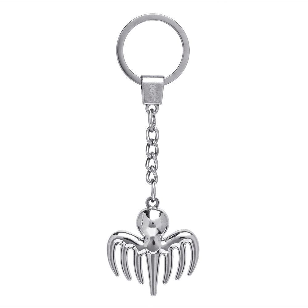 SPECTRE Symbol Silver-plated Keyring - 007STORE