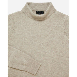 Women's Turtleneck Cashmere Sweater - Pussy Galore Edition - By N. Peal - 007STORE