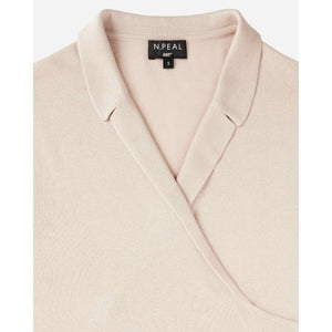 Women's Silk & Superfine Cashmere Wrap Top - Pussy Galore Edition - By N. Peal - 007STORE