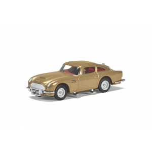 James Bond Gold Aston Martin DB5 Model Car With Ejector Seat - Goldfinger Edition - By Corgi (Pre-order)