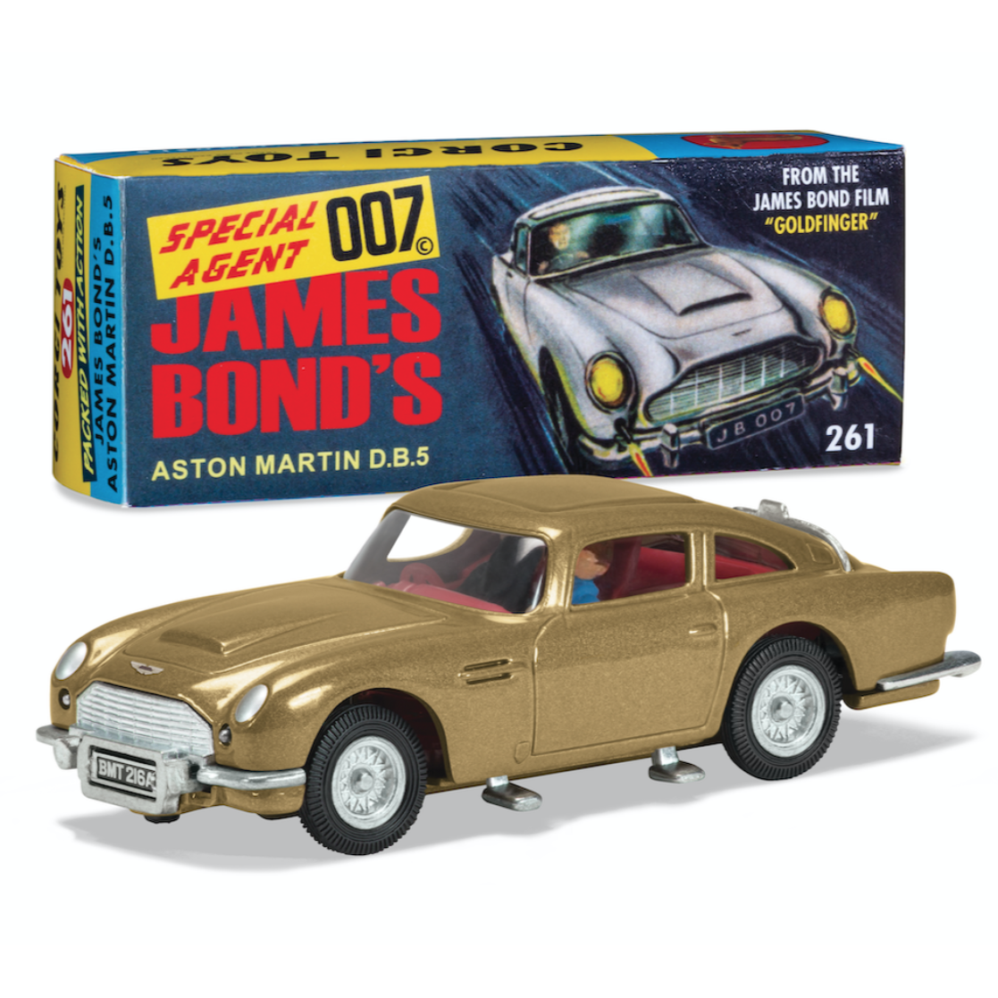 Goldfinger Corgi DB5 Model With Ejector Seat L Official