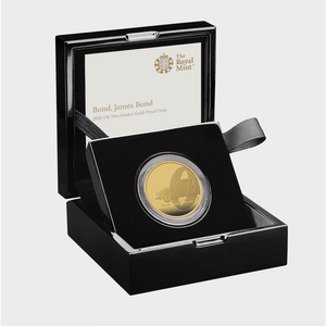 James Bond 2oz Gold Proof Coin - By The Royal Mint