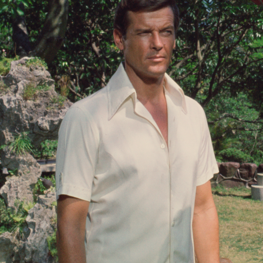 Capri Collar Short-sleeve Shirt - The Man With The Golden Gun Edition - By Orlebar Brown - 007Store