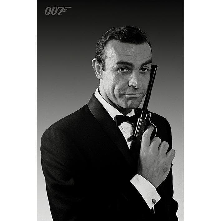 Sean Connery in Tuxedo Maxi Poster - 007STORE