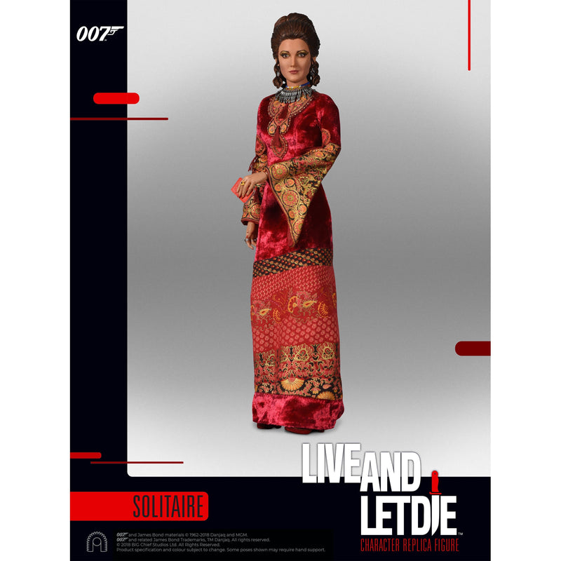 Solitaire 1:6 Scale Figure - Live And Let Die Limited Edition - By Big Chief Studios - 007STORE