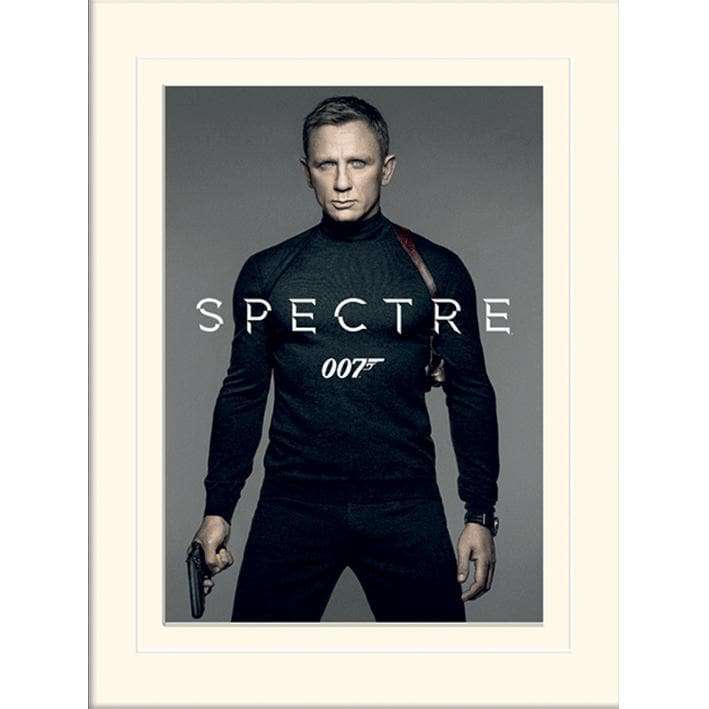 30 x 40cm MOUNTED PRINT - SPECTRE (COLOUR)