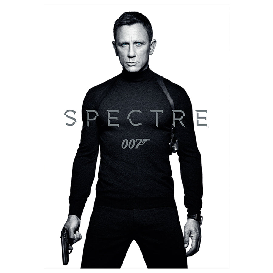 Spectre (Black & White) 60 x 80cm Canvas - 007STORE