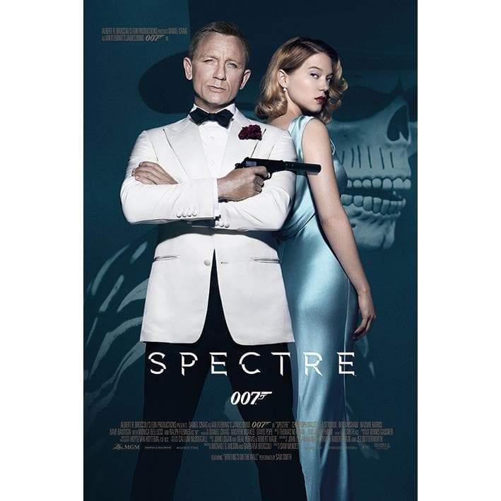 Spectre Day of the Dead Maxi Poster - 007STORE