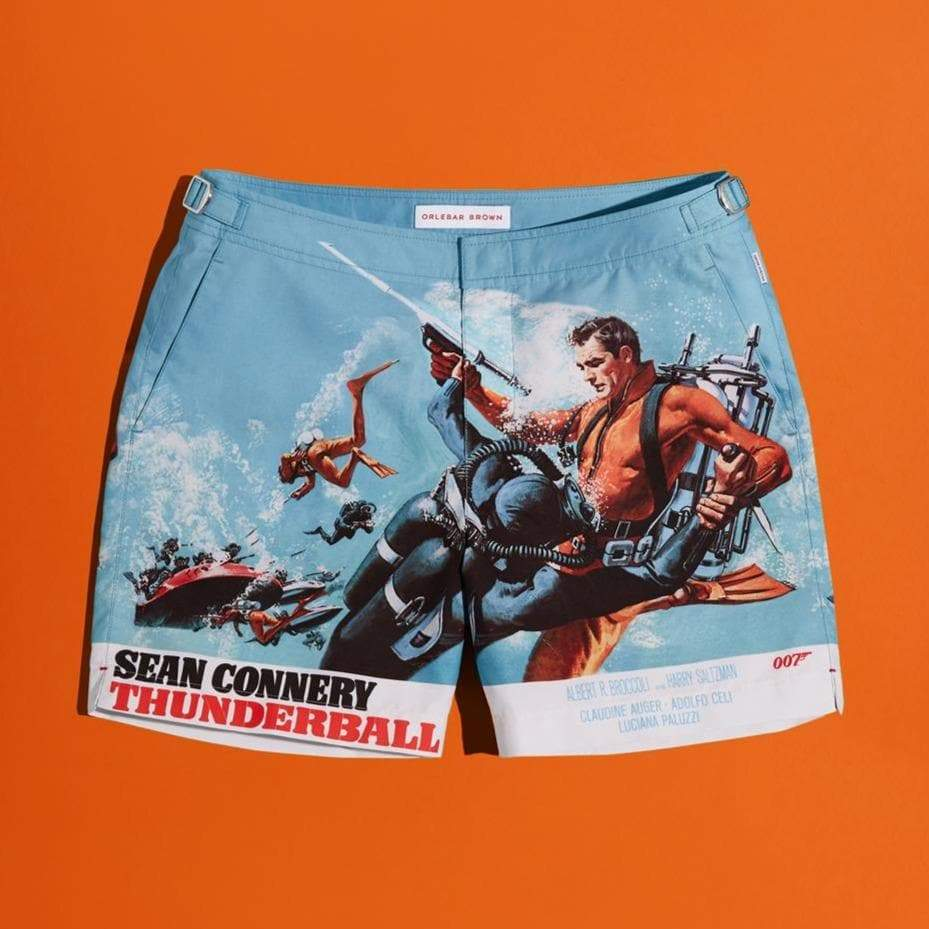 Thunderball Graphic Bulldog Swim Shorts - By Orlebar Brown