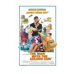 The Man With The Golden Gun Postcard - 007Store