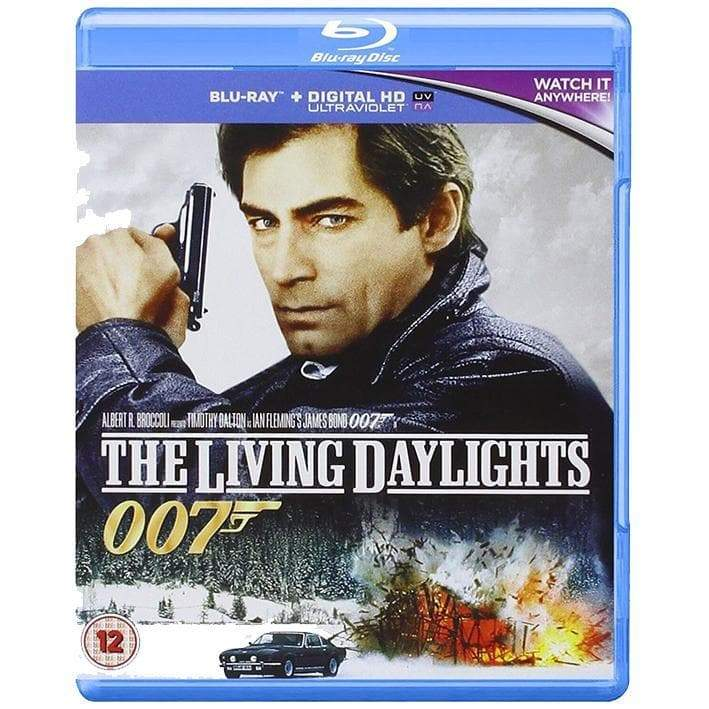 THE LIVING DAYLIGHTS BLU-RAY