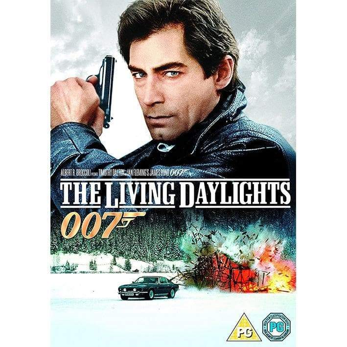 The Living Daylights DVD - 007STORE