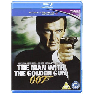 THE MAN WITH THE GOLDEN GUN BLU-RAY