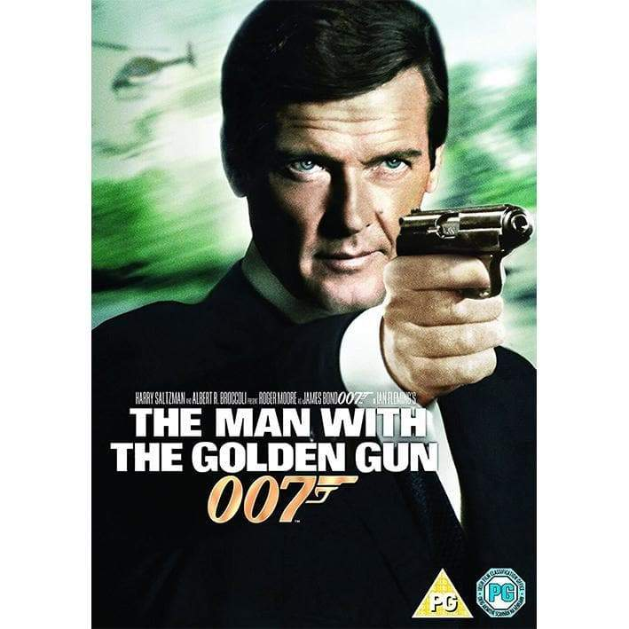 The Man With The Golden Gun DVD - 007STORE