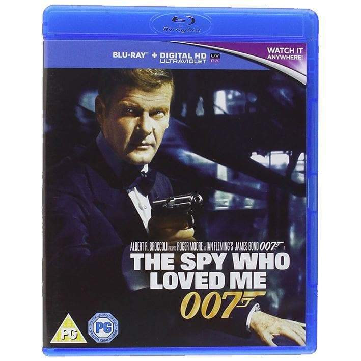The Spy Who Loved Me Blu-Ray - 007STORE