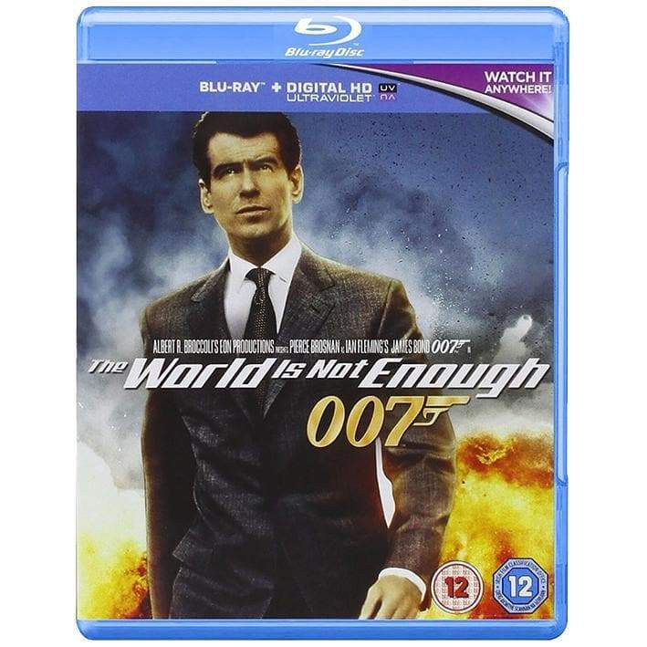The World Is Not Enough Blu-Ray - 007STORE