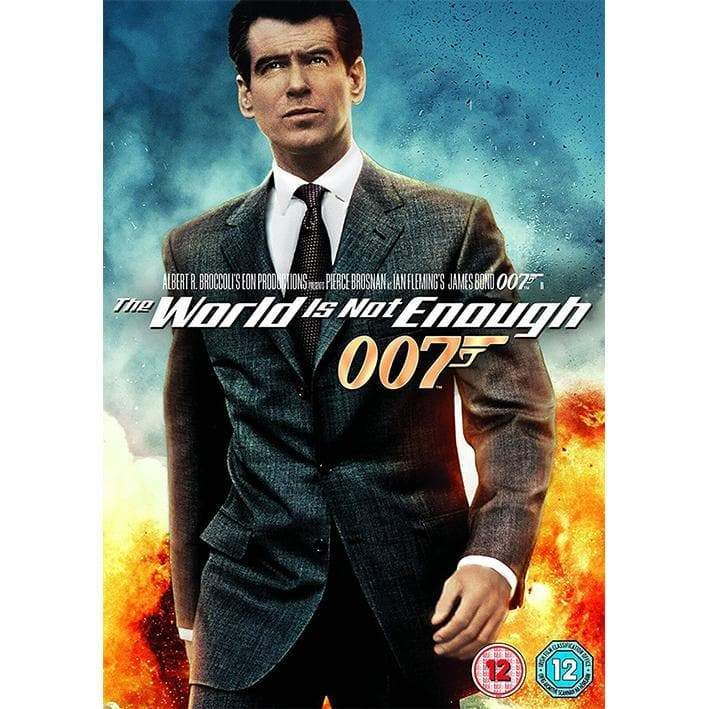 THE WORLD IS NOT ENOUGH DVD
