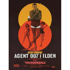 THUNDERBALL (DANISH) 30 X 40CM CANVAS
