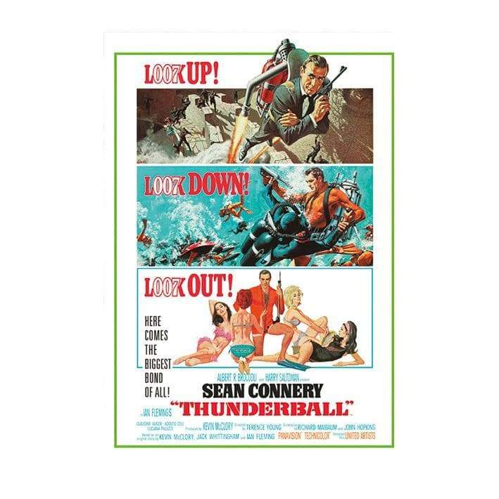 Thunderball Postcard - 007STORE