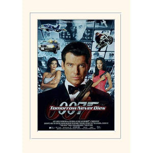 Tomorrow Never Dies 30 x 40cm Mounted Print - 007STORE