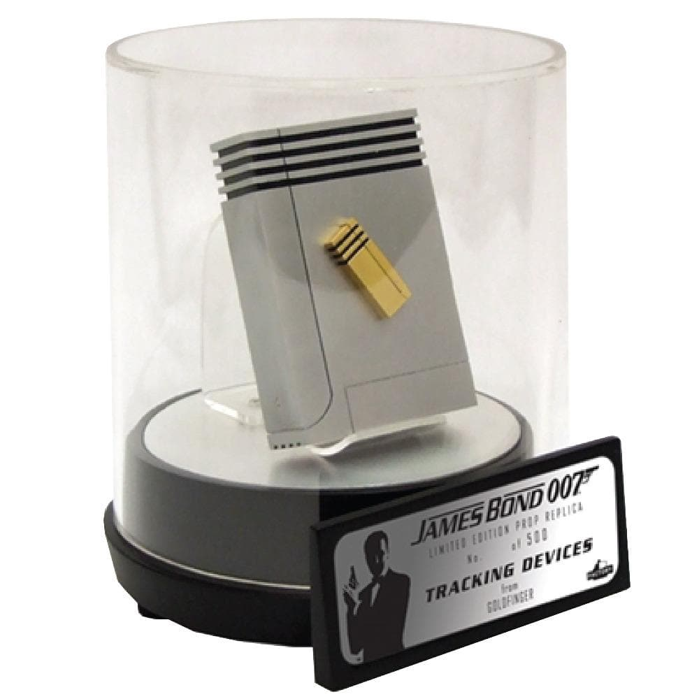 James Bond Q Branch Tracking Device Prop Replica - Goldfinger Numbered Edition - 007STORE