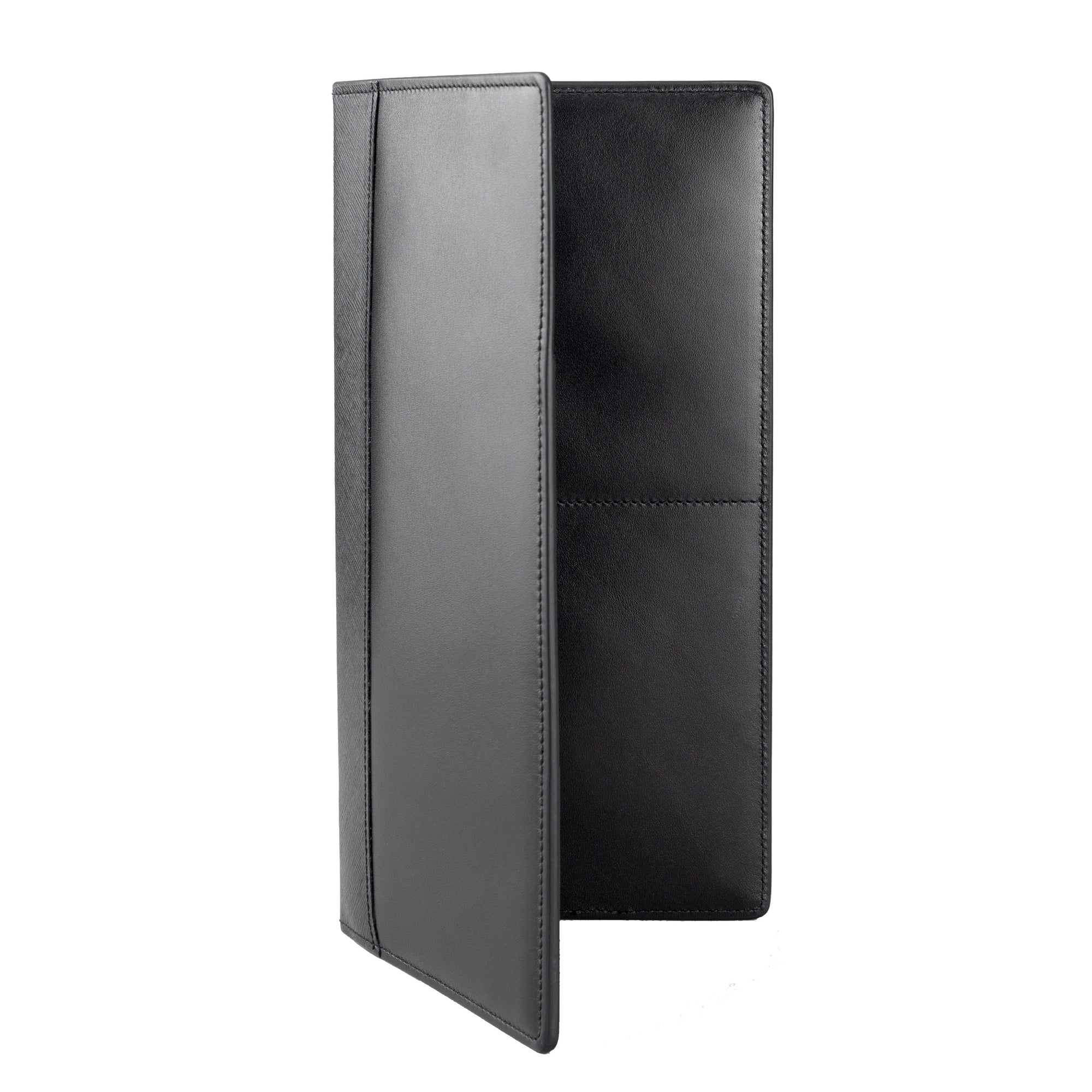 007 Black Leather Travel Wallet By Globe-Trotter - 007STORE