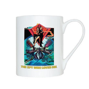 The Spy Who Loved Me Bone China Mug - 007STORE