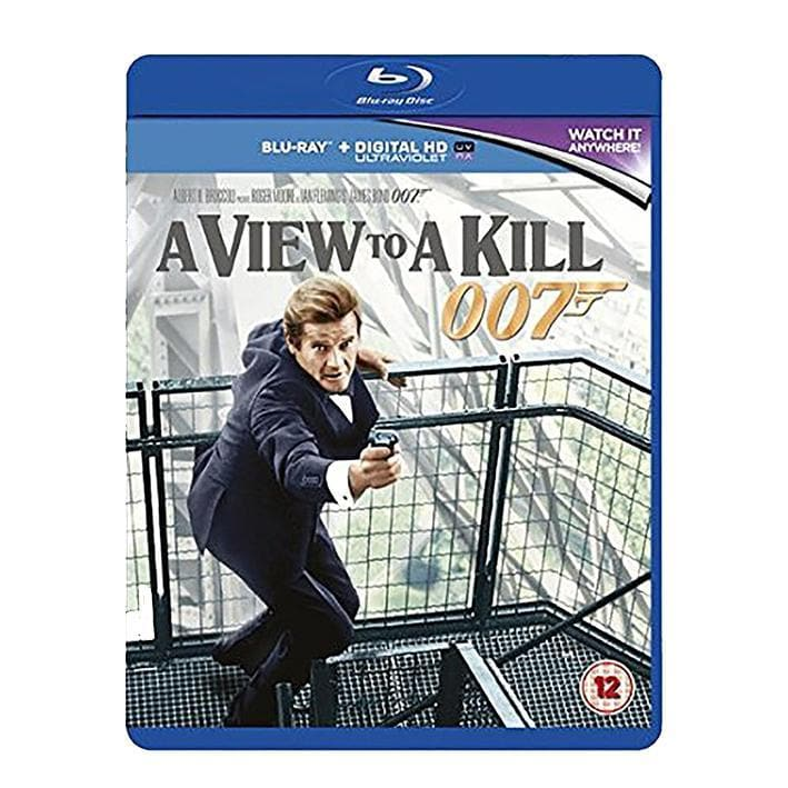 A View To A Kill Blu-Ray - 007STORE