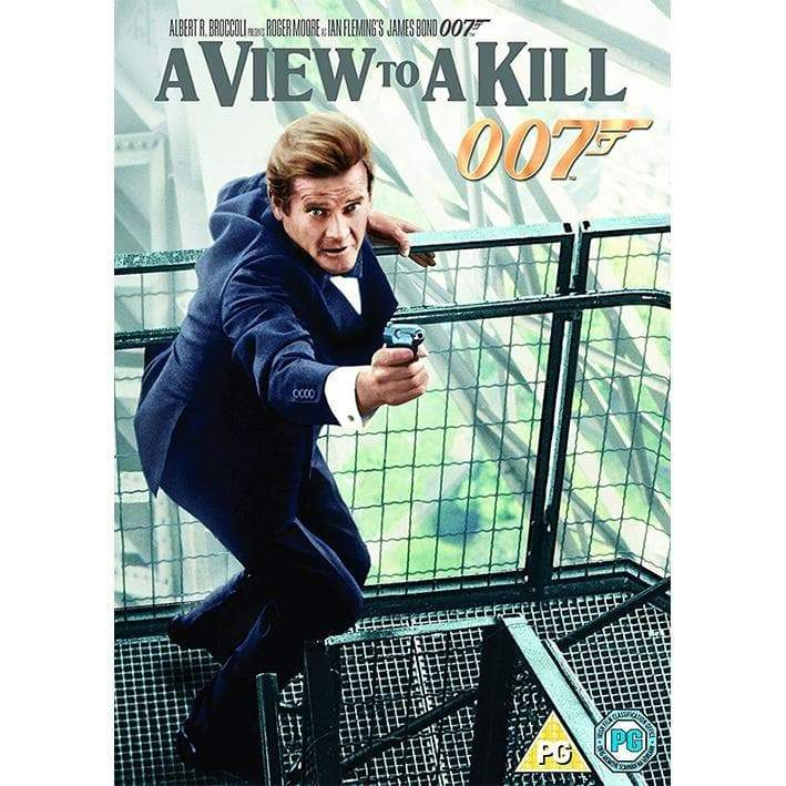 A VIEW TO A KILL DVD l Official James Bond 007 Store