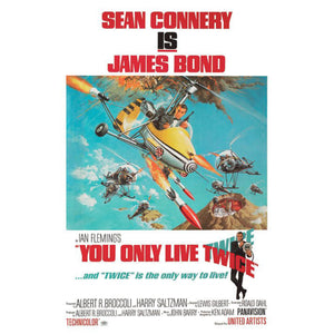 You Only Live Twice Art Canvas (85 x 120cm) - 007STORE