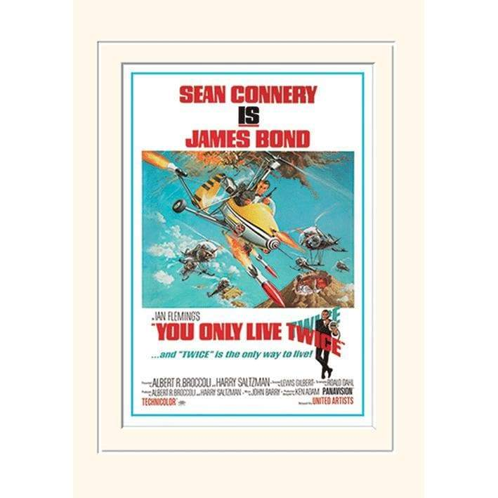 You Only Live Twice Mounted Print (30 x 40cm) - 007STORE