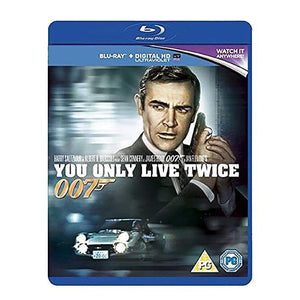 You Only Live Twice Blu-Ray - 007STORE
