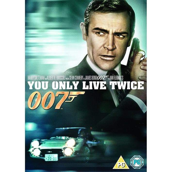 You Only Live Twice DVD - 007STORE