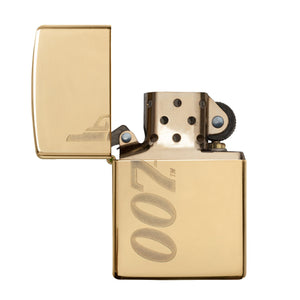James Bond Zippo Lighter (007 Logo Gold) - 007STORE