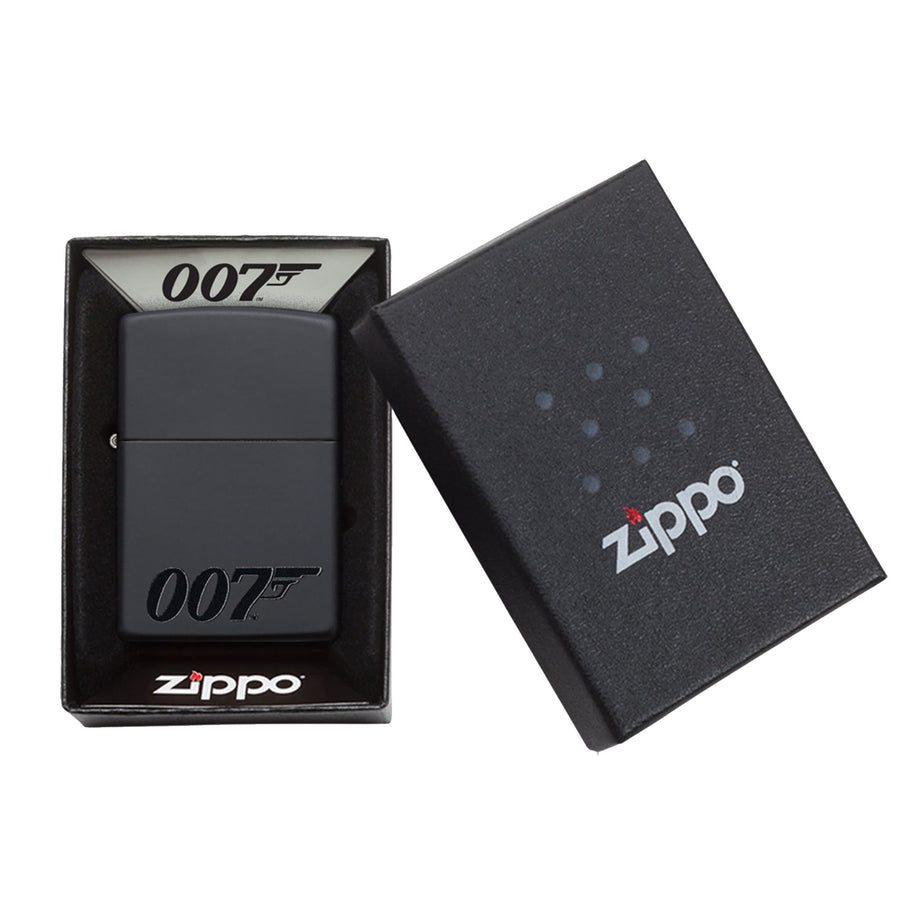 James Bond Zippo Lighter (007 Logo Black)
