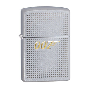 James Bond Zippo Lighter (007 Logo Silver & Gold) - 007Store