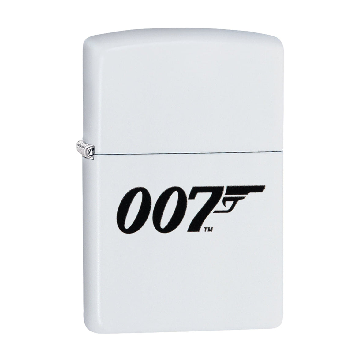 JAMES BOND ZIPPO LIGHTER (007 LOGO WHITE)