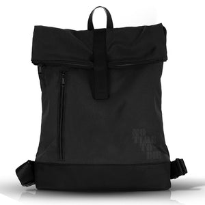 Black Roll-top Backpack - No Time To Die Edition
