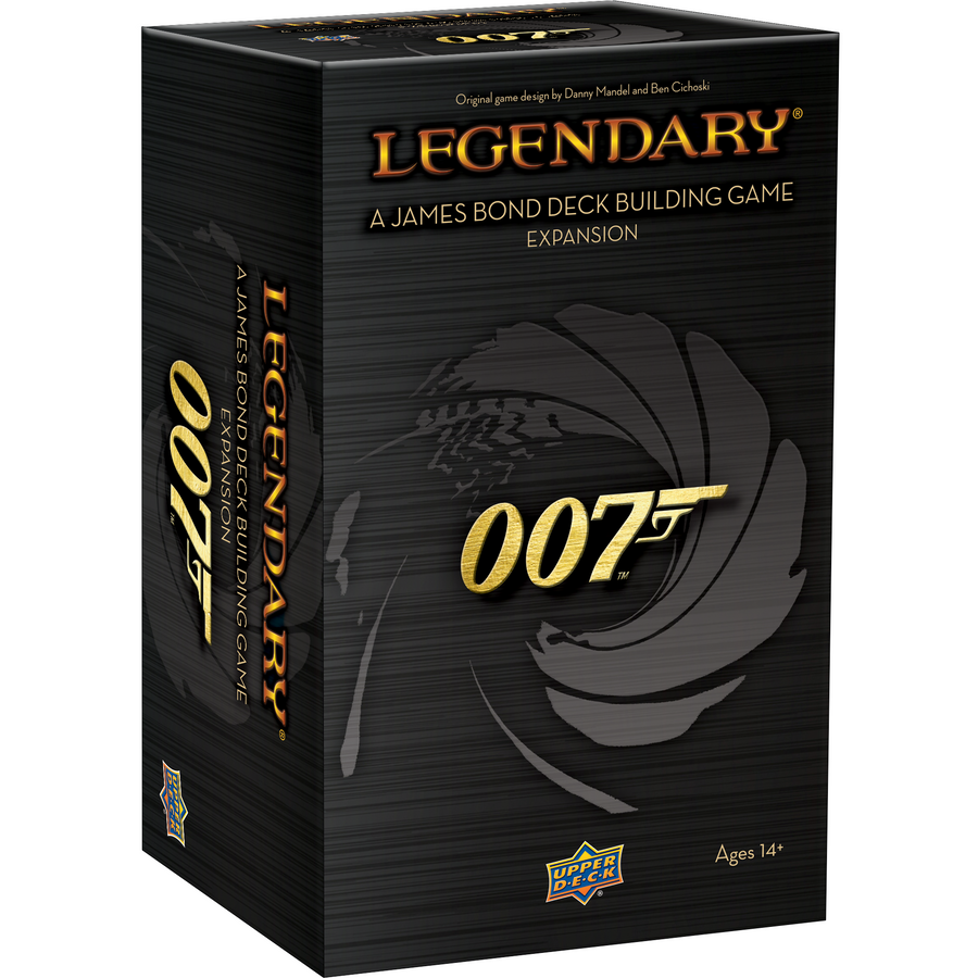 007 James Bond Legendary Expansion Set - By Upper Deck - 007STORE