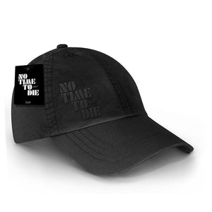 No Time To Die Embroidered Baseball Cap - 007STORE
