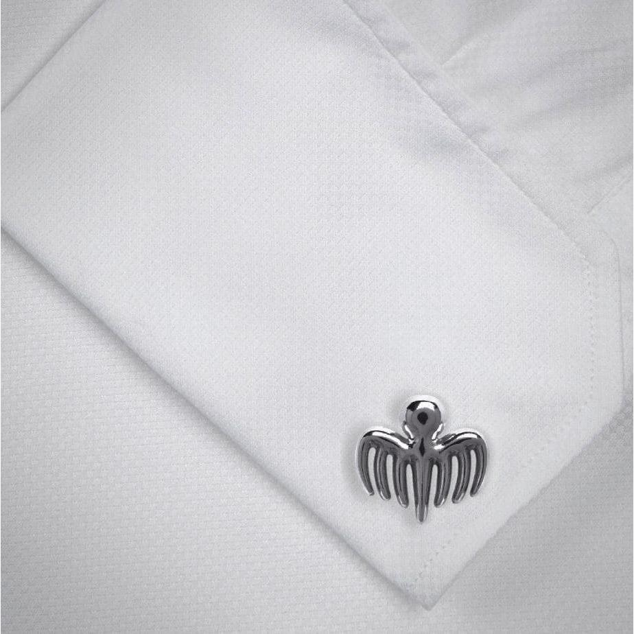 SPECTRE Symbol Silver-plated Cufflinks - 007STORE